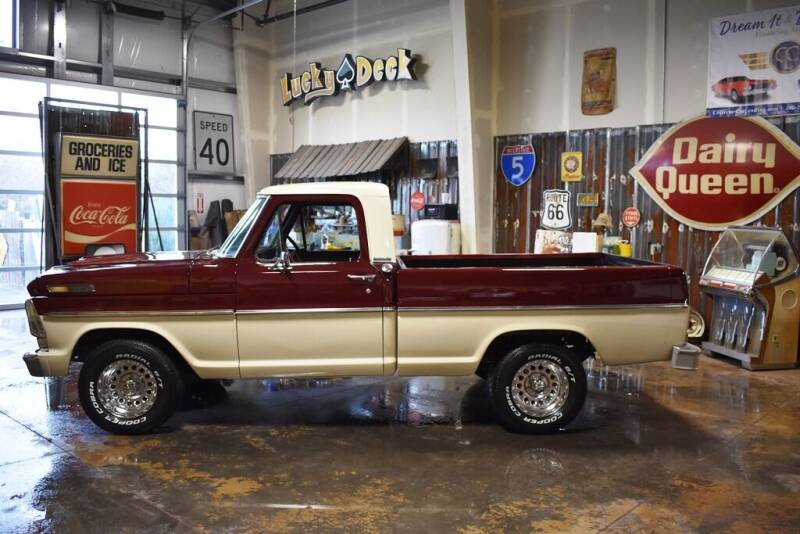 1969 Ford F-100 Short Bed for sale at Cool Classic Rides in Redmond OR