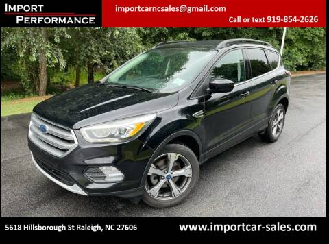 2017 Ford Escape for sale at Import Performance Sales in Raleigh NC