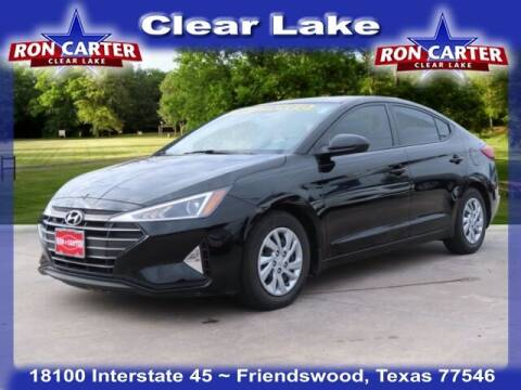 2019 Hyundai Elantra for sale at Ron Carter  Clear Lake Used Cars in Houston TX