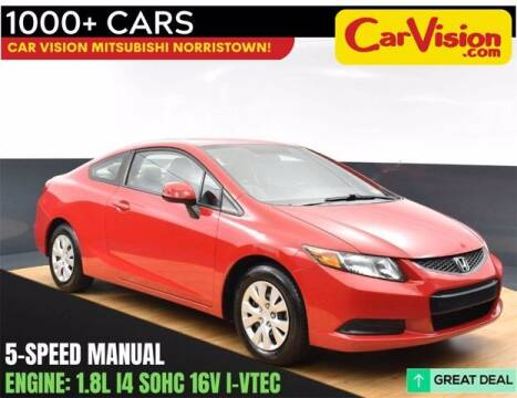 2012 Honda Civic for sale at Car Vision Buying Center in Norristown PA