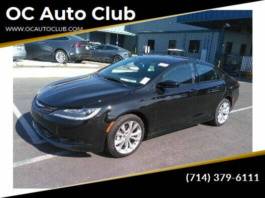2015 Chrysler 200 for sale at OC Auto Club in Midway City CA
