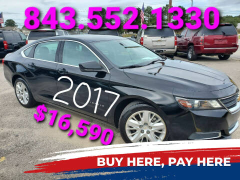 2017 Chevrolet Impala for sale at Rodgers Enterprises in North Charleston SC
