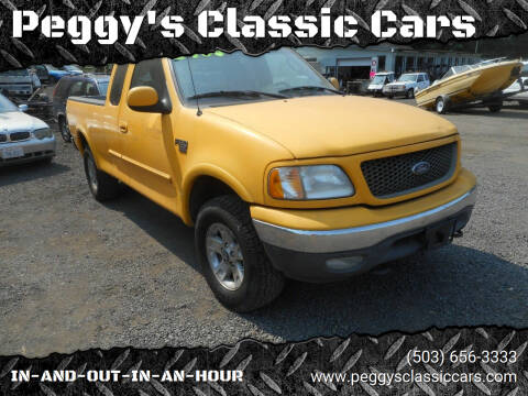 2003 Ford F-150 for sale at Peggy's Classic Cars in Oregon City OR