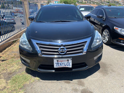 2015 Nissan Altima for sale at GRAND AUTO SALES - CALL or TEXT us at 619-503-3657 in Spring Valley CA