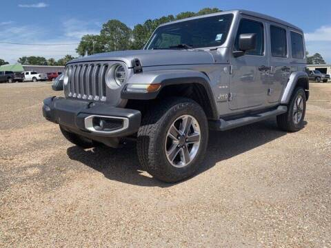 2019 Jeep Wrangler Unlimited for sale at CROWN  DODGE CHRYSLER JEEP RAM FIAT in Pascagoula MS
