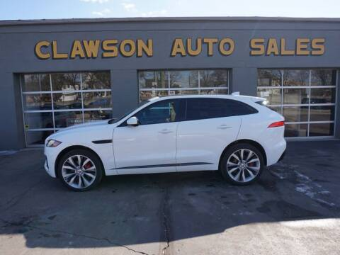2017 Jaguar F-PACE for sale at Clawson Auto Sales in Clawson MI