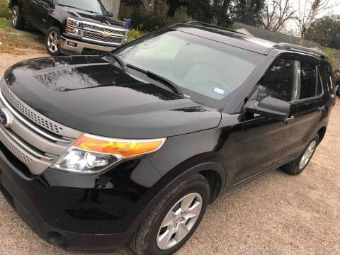 2012 Ford Explorer for sale at Texas Luxury Auto in Houston TX