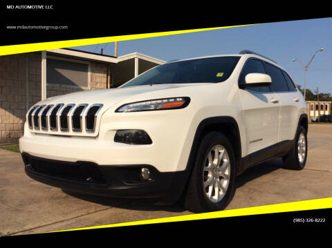 2016 Jeep Cherokee for sale at MD AUTOMOTIVE LLC in Slidell LA