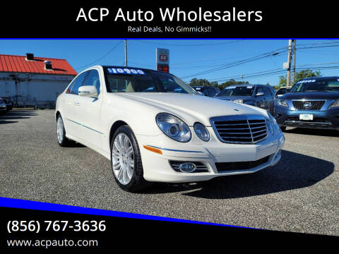 2008 Mercedes-Benz E-Class for sale at ACP Auto Wholesalers in Berlin NJ