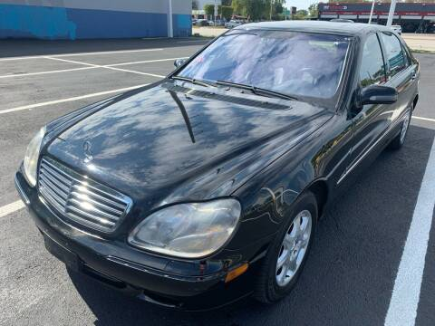 2002 Mercedes-Benz S-Class for sale at Eden Cars Inc in Hollywood FL