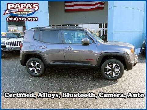 2019 Jeep Renegade for sale at Papas Chrysler Dodge Jeep Ram in New Britain CT