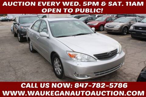 2004 Toyota Camry for sale at Waukegan Auto Auction in Waukegan IL
