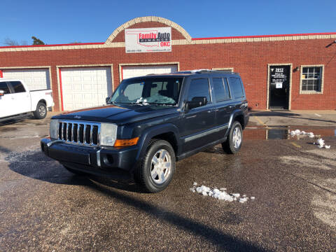 2008 Jeep Commander for sale at Family Auto Finance OKC LLC in Oklahoma City OK