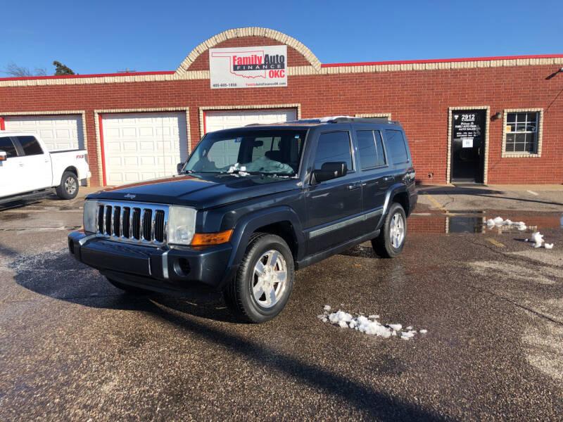2008 Jeep Commander for sale at Family Auto Finance OKC LLC in Oklahoma City OK