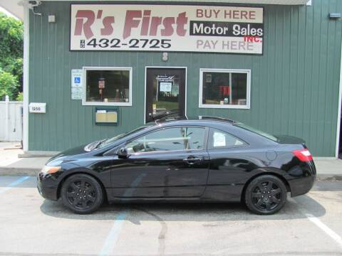 2008 Honda Civic for sale at R's First Motor Sales Inc in Cambridge OH