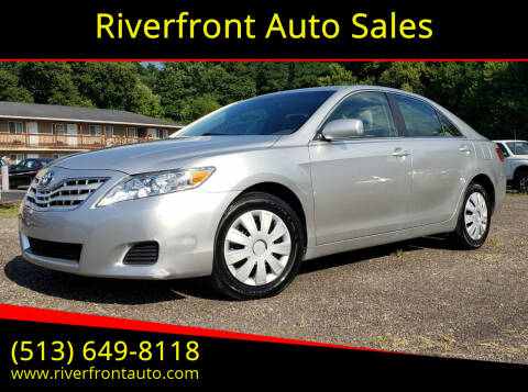2011 Toyota Camry for sale at Riverfront Auto Sales in Middletown OH