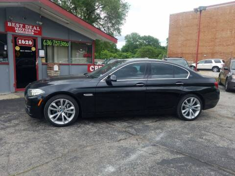 2015 BMW 5 Series for sale at Best Deal Motors in Saint Charles MO
