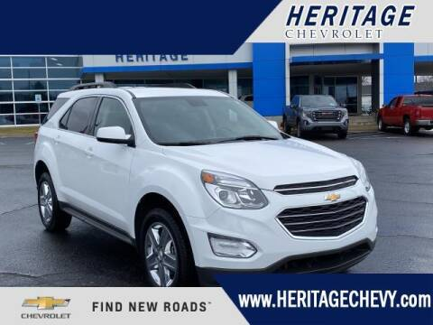 2016 Chevrolet Equinox for sale at HERITAGE CHEVROLET INC in Creek MI