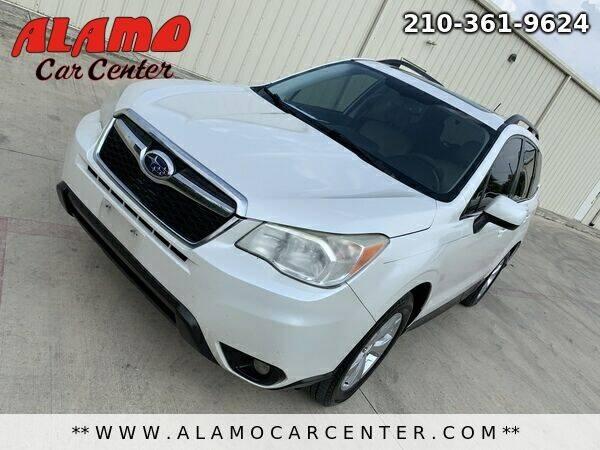 2014 Subaru Forester for sale at Alamo Car Center in San Antonio TX