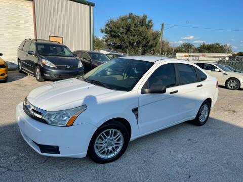 2008 Ford Focus for sale at Hatimi Auto LLC in Austin TX