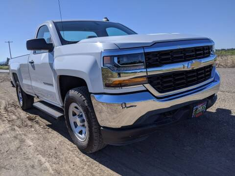 2016 Chevrolet Silverado 1500 for sale at M AND S CAR SALES LLC in Independence OR