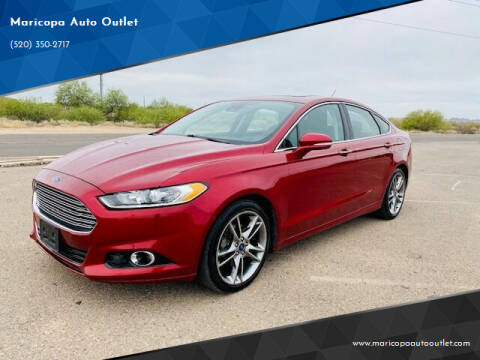 2013 Ford Fusion for sale at Maricopa Auto Outlet in Maricopa AZ