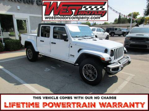 2020 Jeep Gladiator for sale at West Motor Company in Preston ID