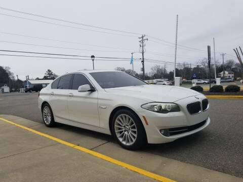2013 BMW 5 Series for sale at RVA Automotive Group in North Chesterfield VA