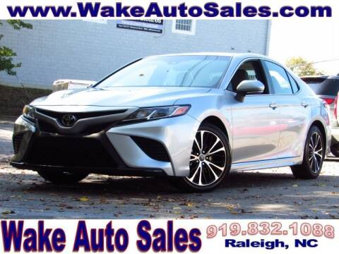 2018 Toyota Camry for sale at Wake Auto Sales Inc in Raleigh NC