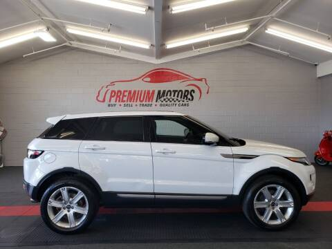2012 Land Rover Range Rover Evoque for sale at Premium Motors in Villa Park IL