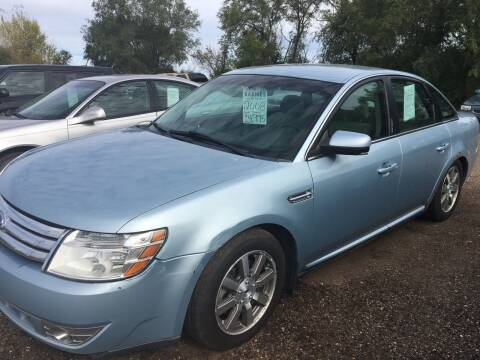 2008 Ford Taurus for sale at BARNES AUTO SALES in Mandan ND
