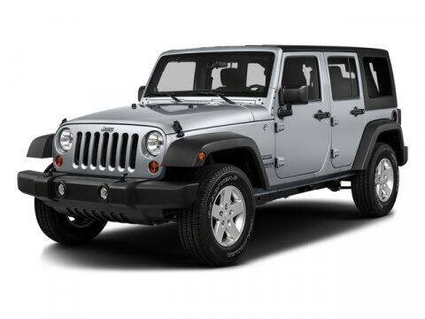 2016 Jeep Wrangler Unlimited for sale at J T Auto Group in Sanford NC