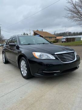2013 Chrysler 200 for sale at Dalton George Automotive in Marietta OH