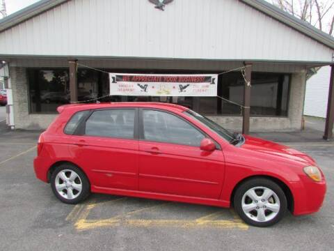 2009 Kia Spectra for sale at Eagle Auto Center in Seneca Falls NY