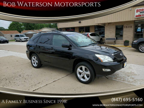 2007 Lexus RX 350 for sale at Bob Waterson Motorsports in South Elgin IL