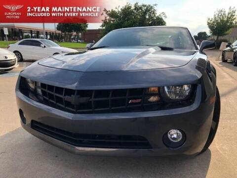 2012 Chevrolet Camaro for sale at European Motors Inc in Plano TX