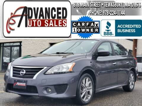 2014 Nissan Sentra for sale at Advanced Auto Sales in Tewksbury MA