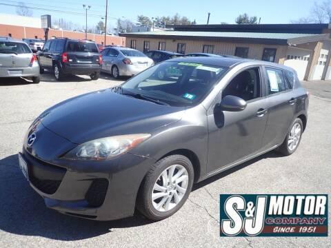 2012 Mazda MAZDA3 for sale at S & J Motor Co Inc. in Merrimack NH