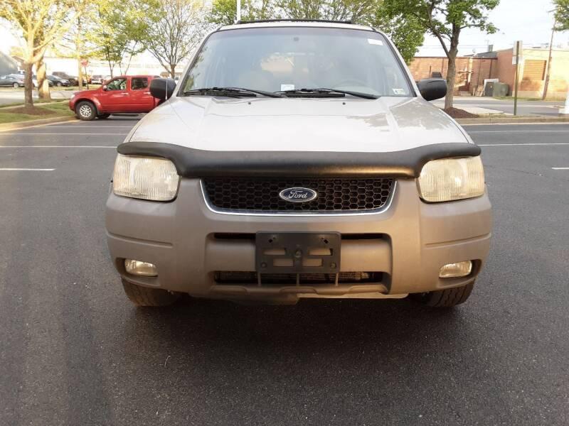 2001 Ford Escape for sale at Fredericksburg Auto Finance Inc. in Fredericksburg VA