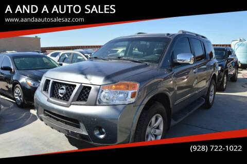 2014 Nissan Armada for sale at A AND A AUTO SALES in Gadsden AZ