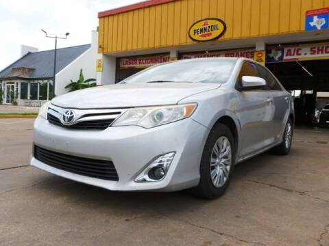 2012 Toyota Camry for sale at Nexar Motors in Houston TX