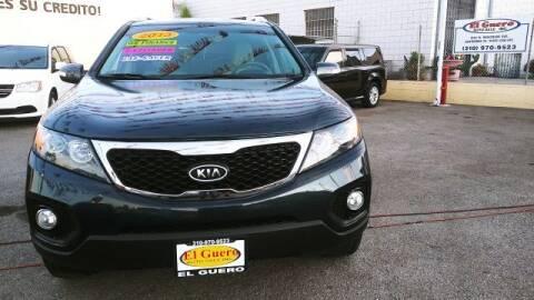 2013 Kia Sorento for sale at El Guero Auto Sale in Hawthorne CA
