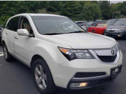 2010 Acura MDX for sale at Primary Motors Inc in Commack NY