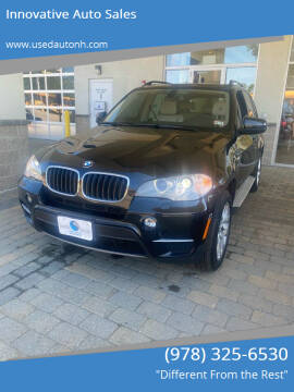 2012 BMW X5 for sale at Innovative Auto Sales in North Hampton NH