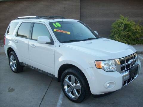 2010 Ford Escape for sale at Cliff Bland & Sons Used Cars in El Dorado Springs MO