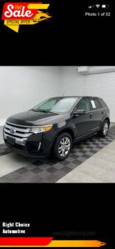 2013 Ford Edge for sale at Right Choice Automotive in Rochester NY