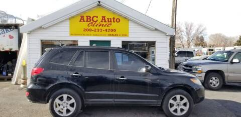 2007 Hyundai Santa Fe for sale at ABC AUTO CLINIC - Chubbuck in Chubbuck ID