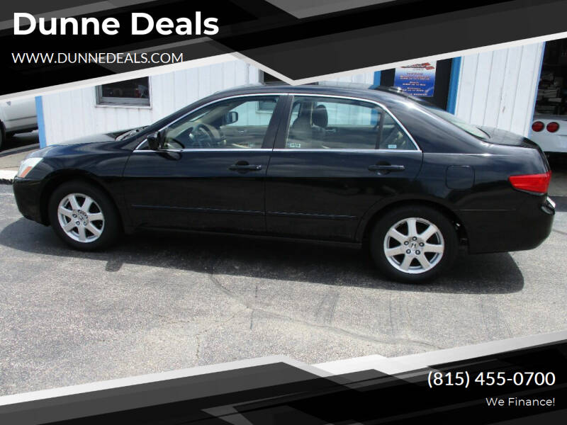 2005 Honda Accord for sale at Dunne Deals in Crystal Lake IL
