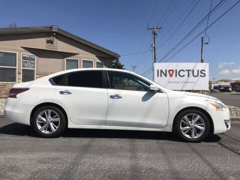 2015 Nissan Altima for sale at INVICTUS MOTOR COMPANY in West Valley City UT