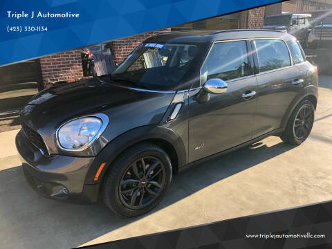 2012 MINI Cooper Countryman for sale at Triple J Automotive in Erwin TN